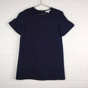 Brooks Brothers Fleece Collection Navy Blouse